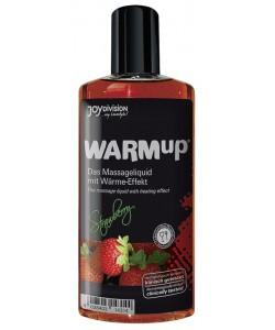 "Съедобное массажное масло ""WARMup"" Strawberry, 150 мл"