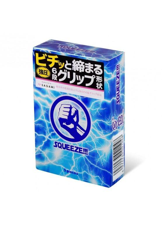 Презервативы Sagami Squeeze 5 шт