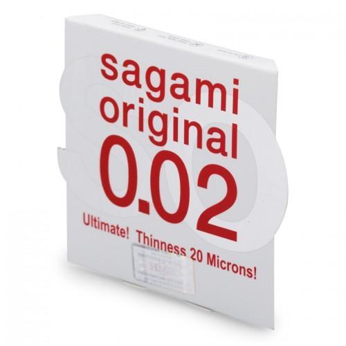 """Самые тонкие презервативы Sagami Original """"002"""" 1 шт."""
