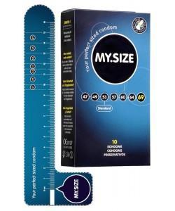 """Презервативы """"MY.SIZE"""" 223 х 69 мм 10 шт"""