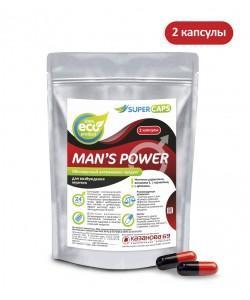 Возбуждающее средство для мужчин с L-carnitin Man's Power 2 капсулы