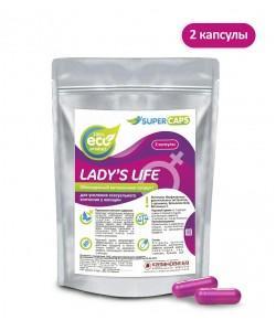 Возбуждающее средство для женщин Lady's Life 2 капсулы