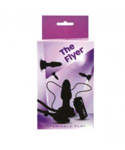 """Анальная вибропробка с грушей """"The Flyer Plug"""""""