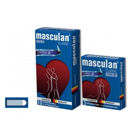 "Презервативы Masculan ""Dotty"" 10 шт."