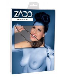 "Привязь кожаная ""Leather Leash"" BDSM ZADO"