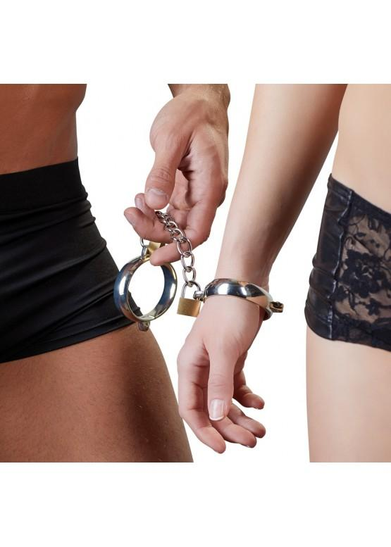 Металлические наручники Bad Kitty 20900236001