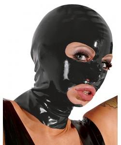 "Латексная маска ""LATE X"" Black"