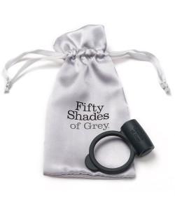Shades-of-Grey Кольцо для пениса с вибрацией Yours and Mine