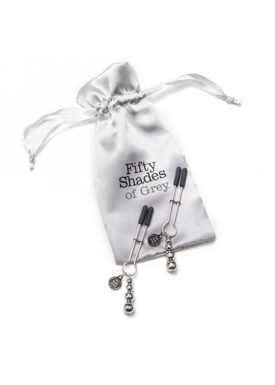 Shades-of-Grey Зажимы для сосков The Pinch Adjustable
