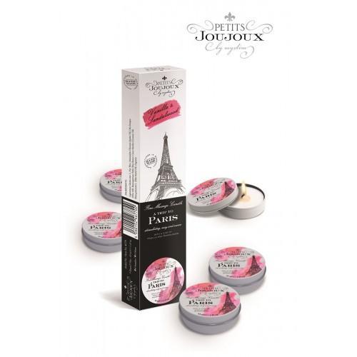 PETITS JOUJOUX  PARIS REFILL Набор из 5 массажных свечей 33 гр.