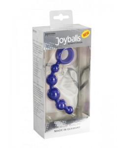 """Анальная цепочка """"JoyBalls"""" Blue"""