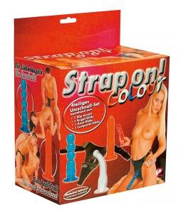"Набор фаллоимитаторов на поясе ""Strap On"" Color"