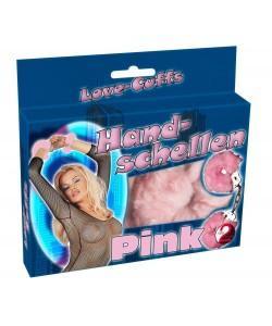 Наручники металлические Hand schellen pink