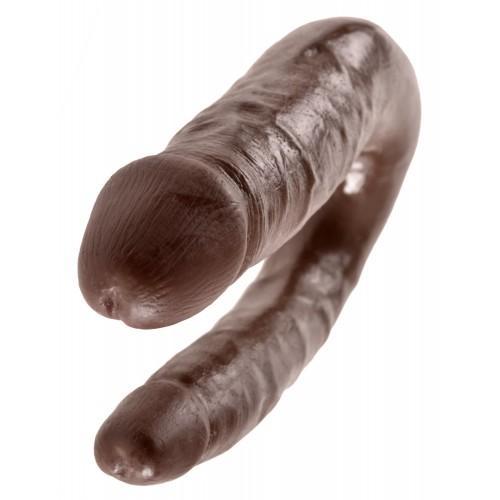 PipeDream King Cock Double Penetrator Фаллоимитатор реалистик двусторонний коричневый 33,5 x 2,8 см