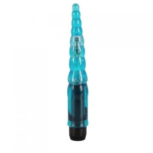 Голубой анальный вибратор You2toys Temptation Blue