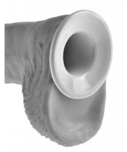 """Полый страпон на поясе и подтяжках """"King Cock 10"""" Hollow Strap-On Suspender System"""" 564121"""