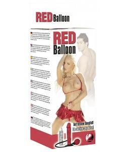 """Вибратор расширяющийся """"Red Balloon Dildo"""""""