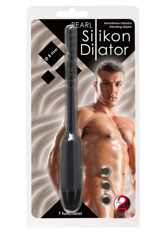 """Силиконовый вибростимулятор уретры """"Silicon Dilator"""" 5778980000"""