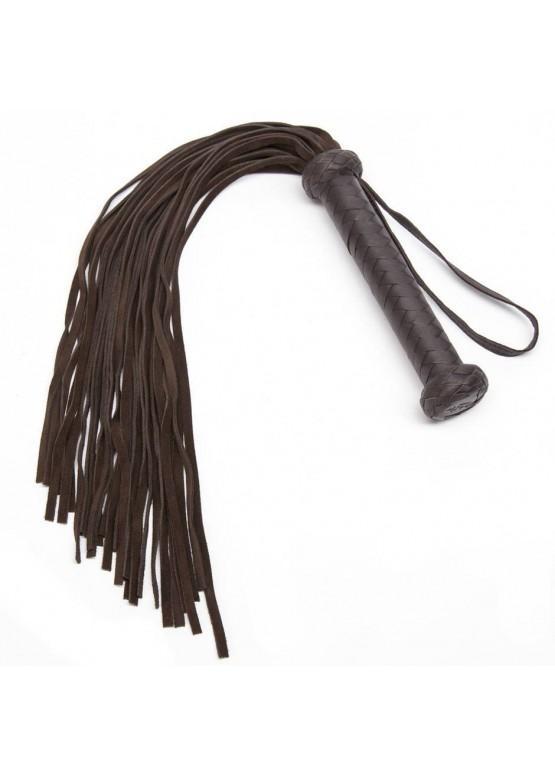 Флоггер Coco de Mer Brown Leather Flogger
