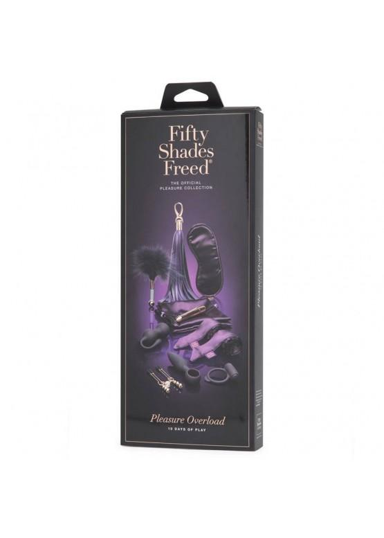 Набор секс-игрушек Fifty Shades Freed Pleasure Overload 10 Days of Play Couple's Gift Set