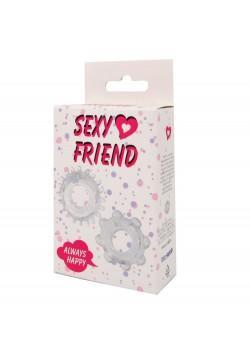 """2 эрекционных кольца """"Sexy Friend"""""""