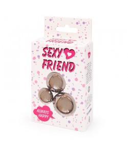 """Набора вагинальных шариков """"Sexy Friend"""" Металл"""