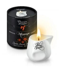 Массажная свеча с ароматом красного дерева Jardin Secret D'orient Bois Roug 80 мл
