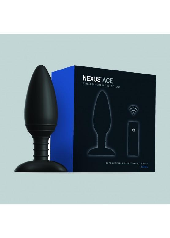 """Анальная вибропробка с пультом ДУ Nexus """"Ace"""" Large"""