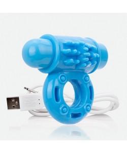 Screaming O Виброкольцо Charged Vooom голубой AOW-BU-110