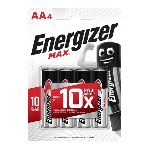 Батарейки ENERGIZER MAX LR-06 AA 4 штуки