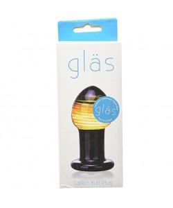 """Стеклянная анальная пробка Glas """"Galileo"""""""