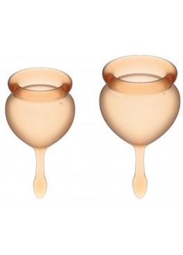 Набор желтый менструальных чаш Satisfyer Feel good Menstrual Cup