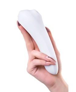Вакуумный стимулятор клитора с вибрацией SATISFYER DUAL PLEASURE White