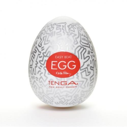 Мастурбатор TENGA&Keith Haring Egg Party