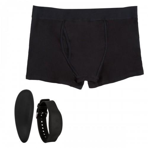 Мужские боксеры с вибромассажером Remote Control Panty Set L/XL