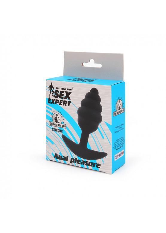 Анальная пробка для ношения SexExpert 9 х 3,4 см SEM-55196