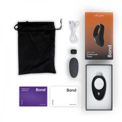 Эрекционное виброкольцо и носимый вибратор для мужчин Bond by We-Vibe