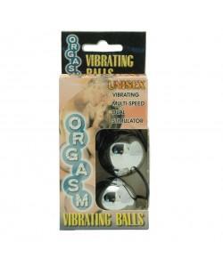 """Вагинальные шарики с вибрацией """"Orgasm Vibrating Ball"""" Silver"""