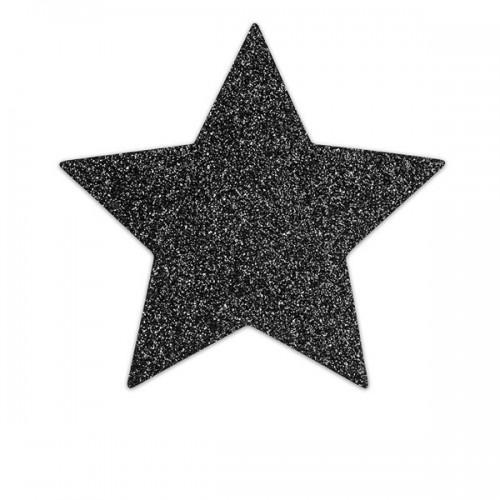Bijoux Украшение на грудь Flash Star черное