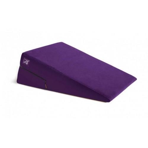 Liberator Retail Ramp Подушка для любви большая, пурпурная микрофибра