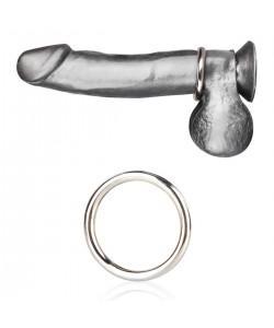 Стальное эрекционное кольцо 4, 8 см STEEL COCK RING BLM4003