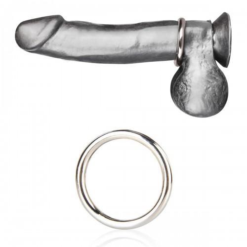 Стальное эрекционное кольцо 4,8 см STEEL COCK RING BLM4003