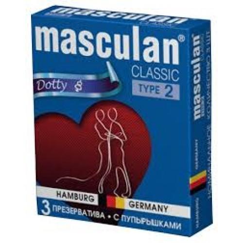 "Презервативы Masculan ""Dotty"" 3 шт."