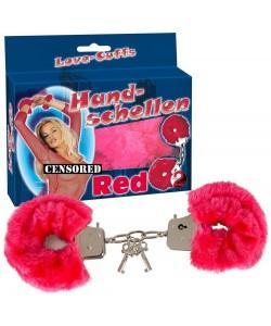 BDSM Наручники Hand Schellen красный