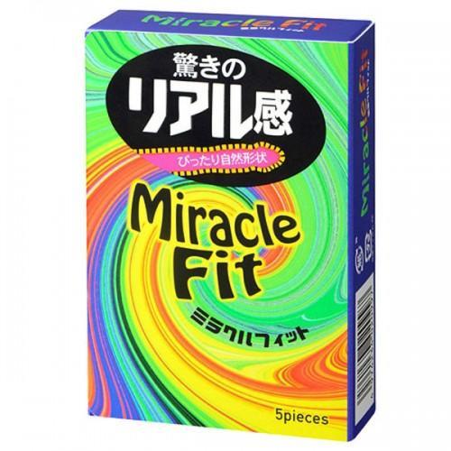 Презервативы SAGAMI Miracle Fit 5 шт