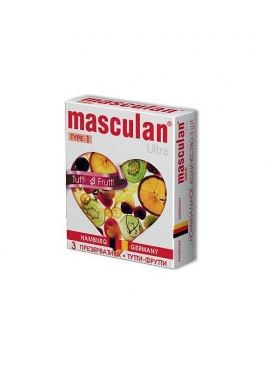 "Презервативы Masculan ""Tutty-Frutty"" 3 шт."