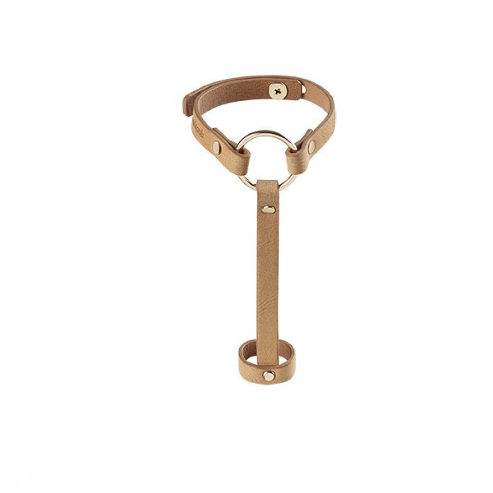 Bijoux Наручники MAZE- Hand Braslet Harness коричневые 241