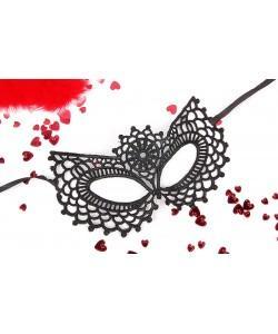 МАСКА АЖУРНАЯ ВИОЛЕТТА цвет чёрный, текстиль арт. EE-20367