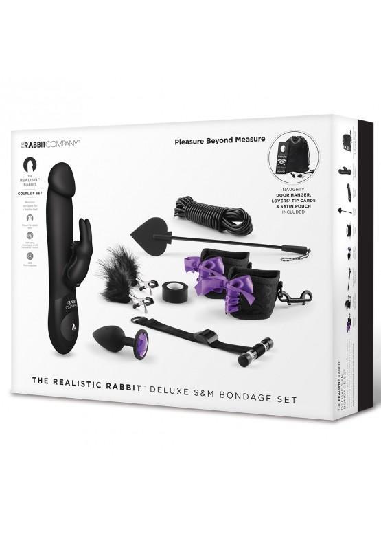 Игровой набор для пары Deluxe Pleasure Beyond 11 предметов TRC-SET-004