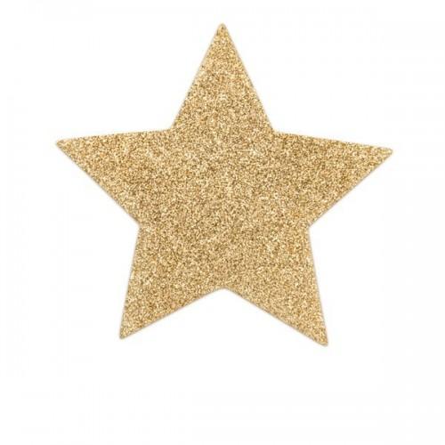 Bijoux Украшение на грудь Flash Star золотое